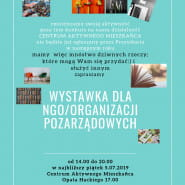 Wystawka dla NGO Organizacji pozarządowych