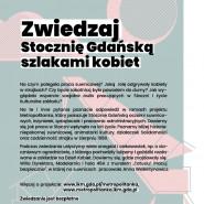 Spacery Stocznia Gdańska szlakami kobiet
