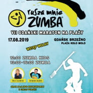 VII Gdański Maraton Zumba Fitness na plaży