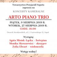 Koncerty kameralne Arto Piano Trio