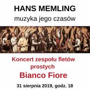 Hans Memling - muzyka jego czasów