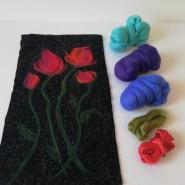 Warsztaty - Filcowanie na tkaninie