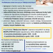 Bezpłatne badania usg tarczycy w Medycznej Gdyni