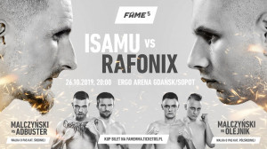 Fame MMA 5 - Gdańsk Sopot, 26 października 2019 (sobota)