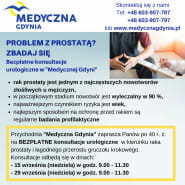 PROBLEM Z PROSTATĄ? - skorzystaj z bezpłatnych konsultacji urologicznych