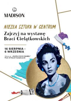 Niezła sztuka w Centrum - wystawa Piotr i Paweł Cielątkowski
