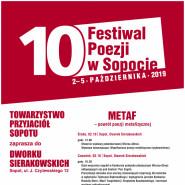 10. Festiwal Poezji - Metaf czyli powrót poezji metafizycznej