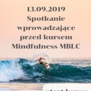 Spotkanie przed kursem Mindfulness MBLC