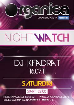 Night Watch - DJ Kfadrat