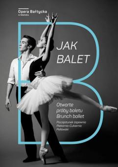 B jak balet - otwarta próba baletu