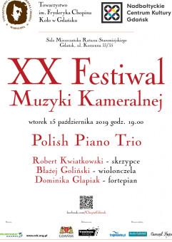 XX Festiwal Muzyki Kameralnej