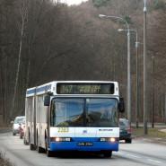 Pożegnanie Neoplanów w Gdyni