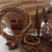 Tworzenie wiklinowych ozdób - kula, osłonka