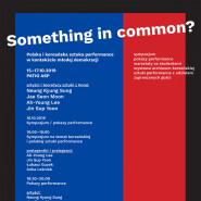 Something in common? - sympozjum