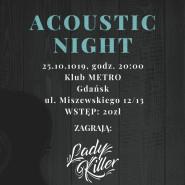 Acoustic Night w Metrze: Black Jeans / Konsternacja / Lady Killer