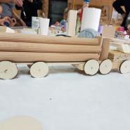 Wariacje z drewnem dla najmłodszych - warsztaty stolarskie