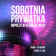 Sobotnia Prywatka w klimacie disco