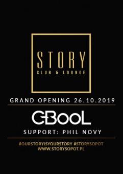C-BooL & Phil Novy - Otwarcie Story Sopot
