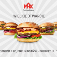 MAXymalne otwarcie MAX Burgers