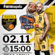 Koszykówka: TREFL Sopot - GTK Gliwice