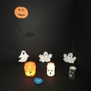 Halloweenowe ozdoby - zajęcia plastyczne