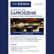 Otwarcie studia kulinarnego The Kitchen