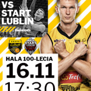Koszykówka: TREFL Sopot - Start Lublin