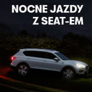 Nocne jazdy z SEAT-em