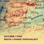 Beata i Paweł Pomykalscy - spotkanie podróżnicze