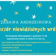 Zabawa Andrzejkowa - Wieczór niewidzialnych wróżb dla dzieci 6-11 lat