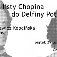 Spór o listy Chopina do Delfiny Potockiej