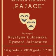 Czytanie aktorskie sztuki Pajace K. Łubieńska i R. Jaśniewicz