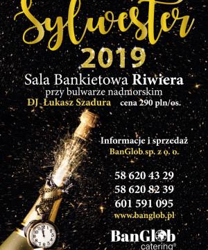 Bal Sylwestrowy 2019 przy bulwarze nadmorskim!
