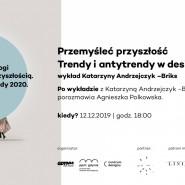Dialogi z przyszłością.Trendy 2020
