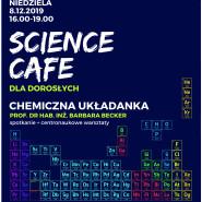 Science Cafe dla dorosłych: Chemiczna układanka