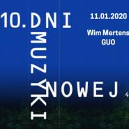 10. DMN / Wim Mertens, GUO