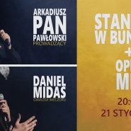 Stand-up: Daniel Midas + OPEN MIC!