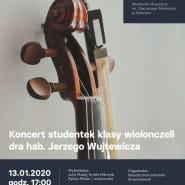 Koncert studentek klasy wiolonczeli