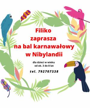 Bal karnawałowy w Nibylandii