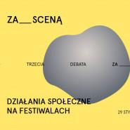 Działania społeczne na festiwalach