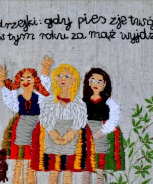 Haft i wycinanki / Aśka Borof