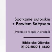 Spotkanie autorskie z Pawłem Sołtysem