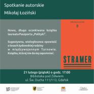 Spotkanie autorskie z Mikołajem Łozińskim