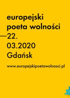Festiwal Literatury Europejski Poeta Wolności 2020