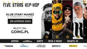 Bilety na Five Stars Hip-Hop Festiwal