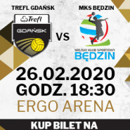 Siatkówka mężczyzn: TREFL Gdańsk - MKS Będzin