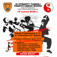 XI Otwarty Turniej Tradycyjnego Wushu