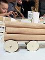 Wariacje z drewnem dla najmłodszych