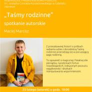 Spotkanie autorskie z Maciejem Marciszem