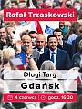 Rafał Trzaskowski w Gdańsku
